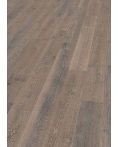 FloorArt 3 layers prefabricated parquet Oak Polished Rustic Lugano 14.2 x 2450 x 240 MM