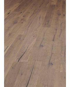 FloorArt 3 layers prefabricated parquet Oak Strongly brushed Rustic Castelvecchio 14.2 x 2130 x 290 MM