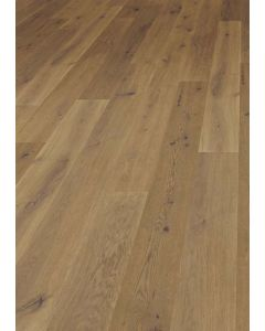 FloorArt 3 layers prefabricated parquet Oak Lightly brushed Rustic Apennines lightly smoked 14.2 x 2130 x 240 MM