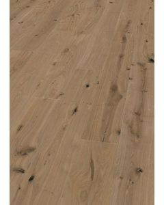 FloorArt 3 layers prefabricated parquet Oak Strongly brushed Rustic Ascona 14.2 x 2450 x 240 MM