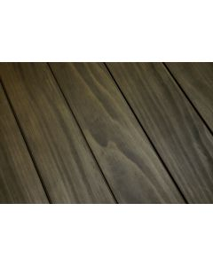 FARO TERRACE Planks terraced La Giardina Accoya Radiata Pine acetylated 7684 Smooth / smooth A1 Quartz gray 25 x 145 x 3600 MM