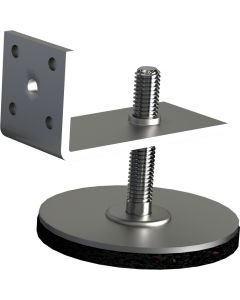 FARO TERRACE Duraturo skate height compensation for 1.1 / 2.0 / 3.0 30 pieces incl. coated screw TX and SW 4  hexagon key