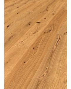 FARO PARQUET 3 layers prefabricated parquet Oak Living Object L Brushed Variation RMC Pure 101 13.5 x 1800 x 185 MM
