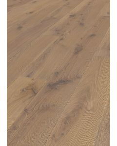 FARO PARQUET 3 layers prefabricated parquet Oak Trend L Strongly brushed Variation Sand FSC MIX CREDIT 13.5 x 2200 x 185 MM