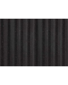 INNOVUS COLOURED FF WAVE MDF Wave relief Black colored through PEFC 100% 19 x 2800 x 1030 MM