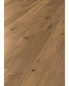 FARO PARQUET 2 layers prefabricated parquet Oak Trend XL Brushed Variation Rain FSC 100% 11 x 1600 x 160 MM