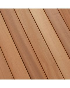 FARO TERRACE Planks terraced Sipo Smooth / smooth First and second FSC 100% 26 x 120 x 4250 MM